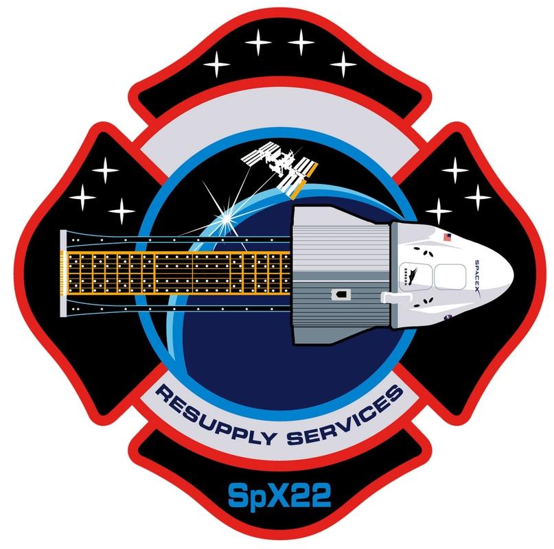 Патч миссии CRS-22 от NASA