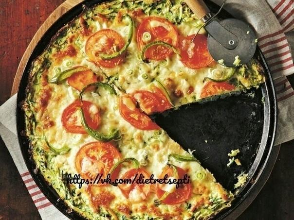 Диетическая кабачковая пицца!😋😍