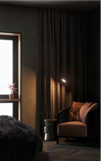 Люблю темные спальни. Они очень атмосферны.