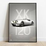 1951 Jaguar XK120 Competition White
