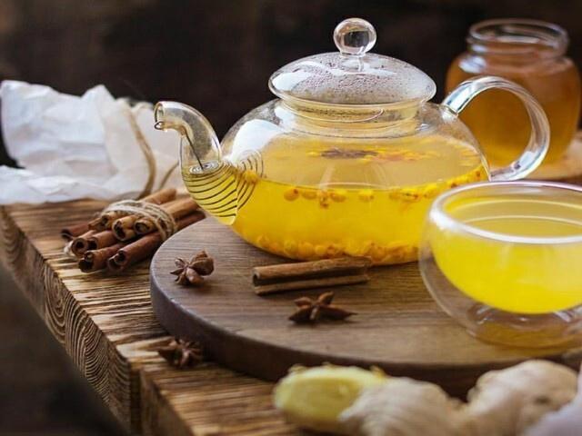 Имбирный чай: растворяет песок в почках и жир вокруг печени.