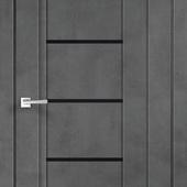 Дверное полотно NEXT 3 Муар темно-серый