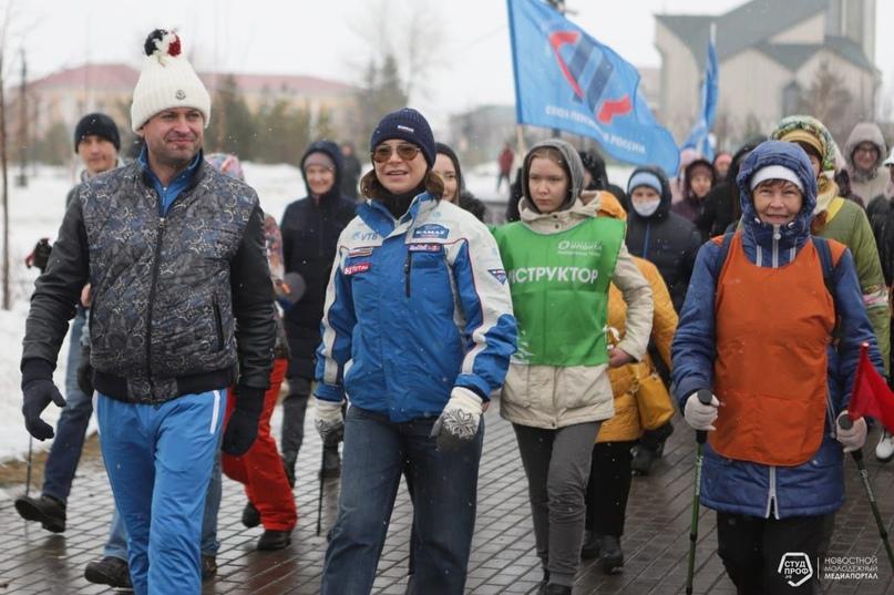 Набережные Челны присоединились к Всероссийской акции «10000 тысяч шагов к жизни» !