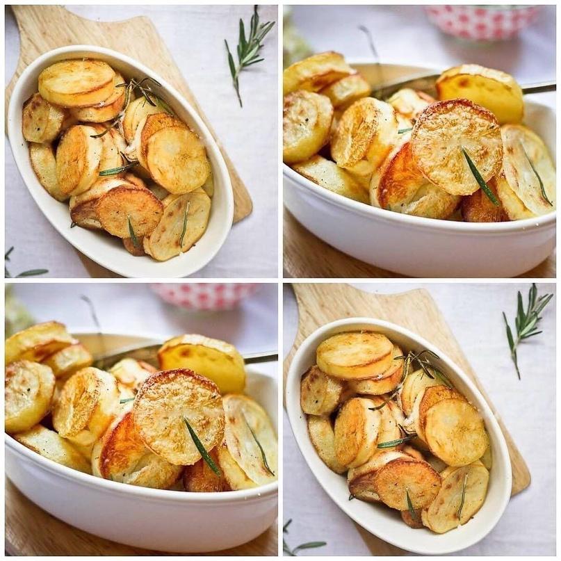 Запеченная картошка по рецепту Джейми Оливера😍