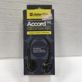 Наушники Defender Accord 145 черный, кабель 1, 2 м