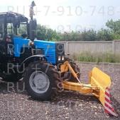 Отвал бульдозерный гидроповоротный для трактора МТЗ 1221