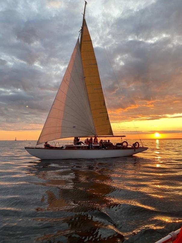 Прогулка по Финскому заливу - классическая парусная яхта ⛵