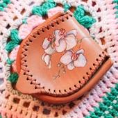 Монетница «Орхидеи». Ручная роспись