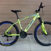 """Велосипед Иж-Байк GRAND (2021) 26"""" Жёлтый/Синий"""