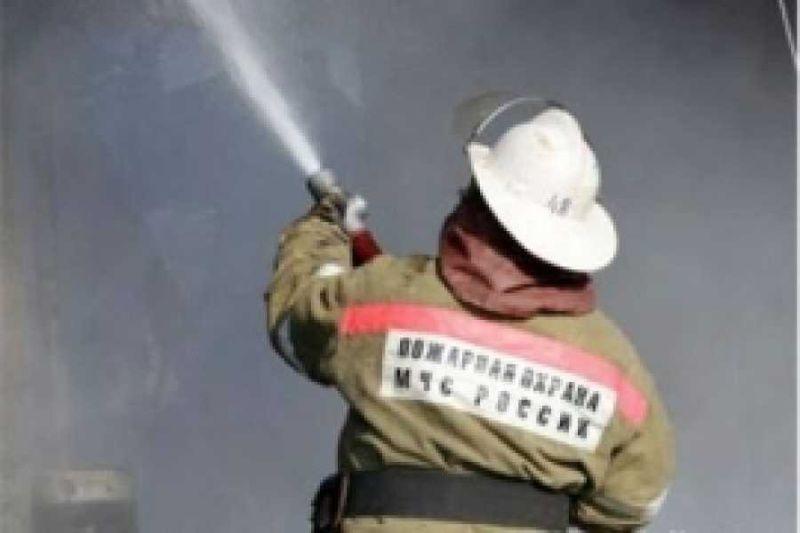 В Оренбурге горели автомойка и складские помещения