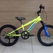 """Велосипед VELTORY 905 (2021) 20"""" Жёлтый/Синий"""