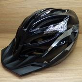Шлем MTB YF-11 с козырьком Чёрный