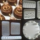 Силиконовые формы для шоколада, пряников и выпечки на заказ