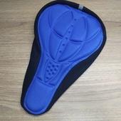 Чехол (мягкая подушка) для велосипедного седла, Синий
