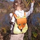 Рюкзачек «Маленькая лисичка». Авторская модель
