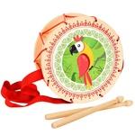 Детский барабан «Попугай»