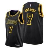 Carmelo Anthony Los Angeles Lakers Mamba Inspired Black 2021 Jersey