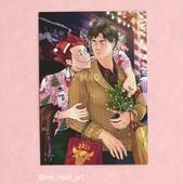 А4 постер-открытка - Тэндо и Ушивака