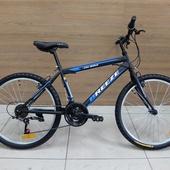"""Велосипед Иж-байк Breeze 24"""" Чёрный/Синий/Белый (2020)"""