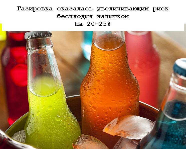 Иностранные ученые раскрыли вред сладких газированных напитков. Так, согласно их...