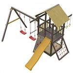 Детская игровая площадка «Сибирика с сеткой»