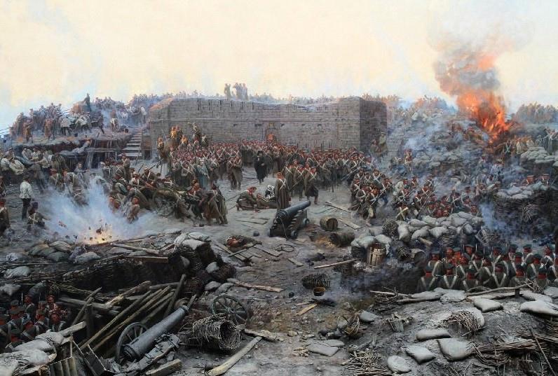25 сентября 1854 гoда, во время Крымской войны, нaчaлaсь герoическая оборона Cевастoпoля.