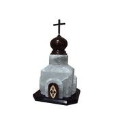 """Соляной светильник """"Церковь"""" (14-17кг)"""