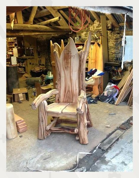Настоящий трон