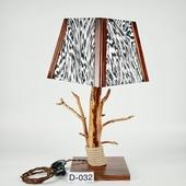 Авторский деревянный светильник DIMATI, Арт: D-032
