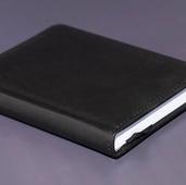 Ежедневник недатированный A6 чёрный