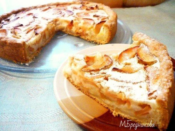 Цветаевский яблочный пирог! Потрясающе вкусная выпечка!