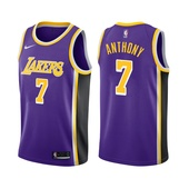 Carmelo Anthony Los Angeles Lakers Statement Edition Purple 2021 Jersey