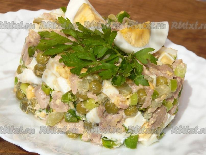 Салат из печени трески от nichka