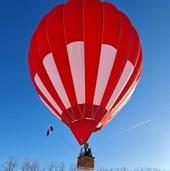 Зимний замок Гарибальди с полетом на воздушном шаре.