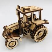 Конструктор Трактор (Сборная деревянная модель )