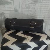 (О449)Мото сумка (батон) под фару на вилку