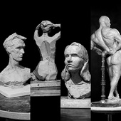 Скульптурные этюды