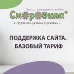 Поддержка сайта. Базовый тариф