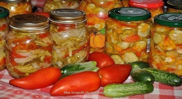 Салаты на зиму из огурцов, домашние рецепты заготовок, салаты без стерилизации.