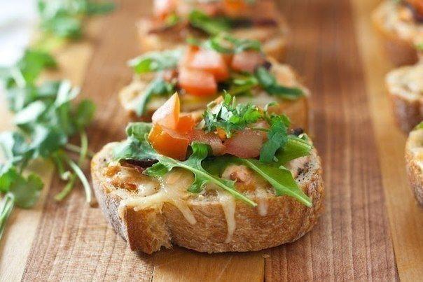 Бутерброды на праздничный стол.