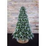 Новогодняя елка Triumph Tree Нормандия Пушистая 185 см заснеженная