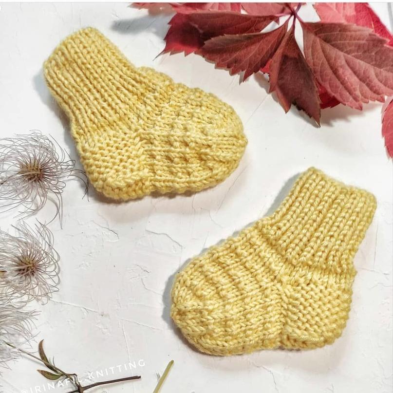 Хорошенькие носочки для малышей.