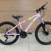 """Велосипед COM GT 2407 Алюминий, Disc (2021) 24"""" Розовый"""