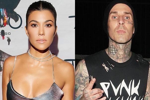 СМИ: Кортни Кардашьян встречается с барабанщиком группы Blink-182 Трэвисом Баркером