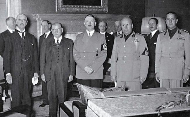 Мюнхенский сговор, или Кто кормил монстра, которого мы победили 9 мая