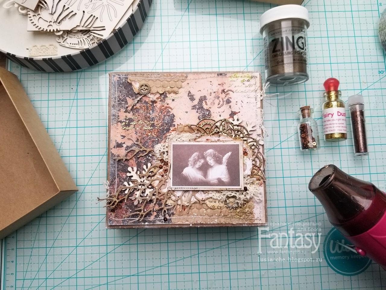 📝 МАСТЕР-КЛАСС: Как я декорирую новогодние коробочки