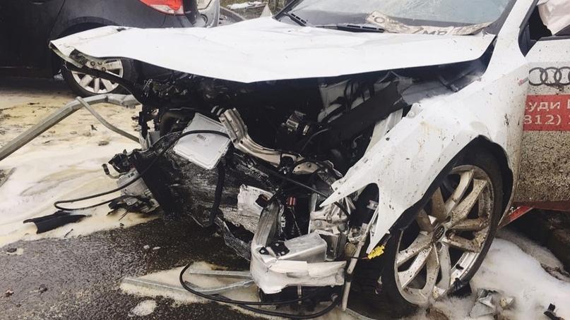 #авто@yakor.blog Машины разбитые на тест-драйве