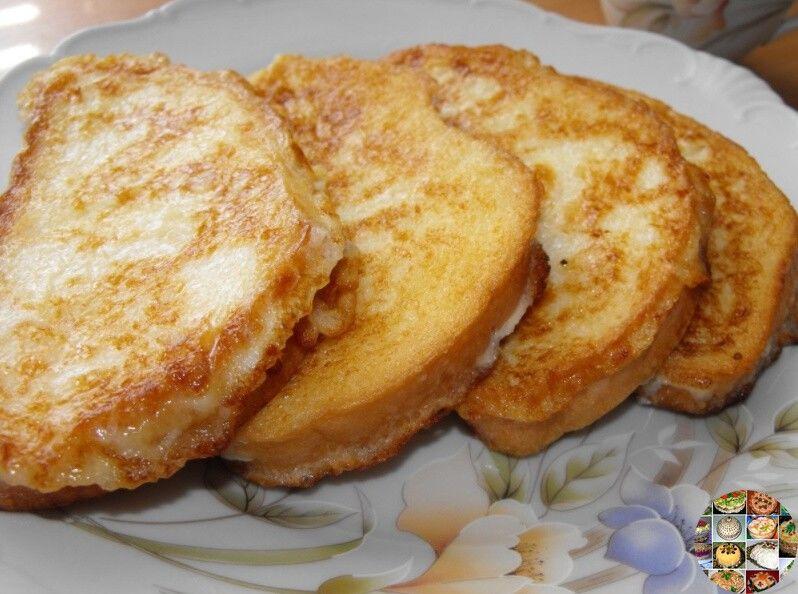 Замечательные сладкие гренки на завтрак