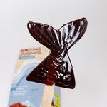 Большой шоколадный леденец с ламинарией