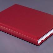 Ежедневник недатированный A5 бордовый